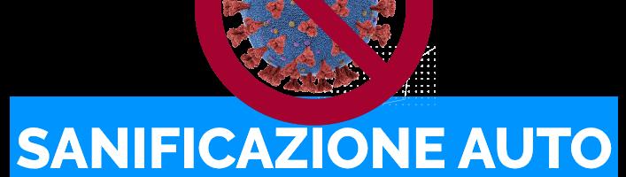 Offerta sanificazione auto con ozono